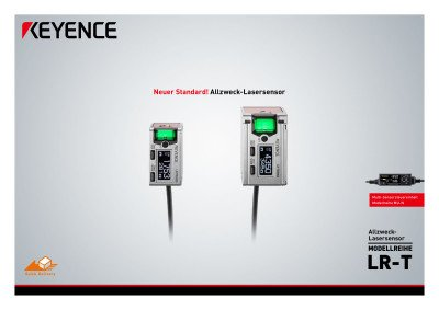 Allzweck-Lasersensor Modellreihe LR-T