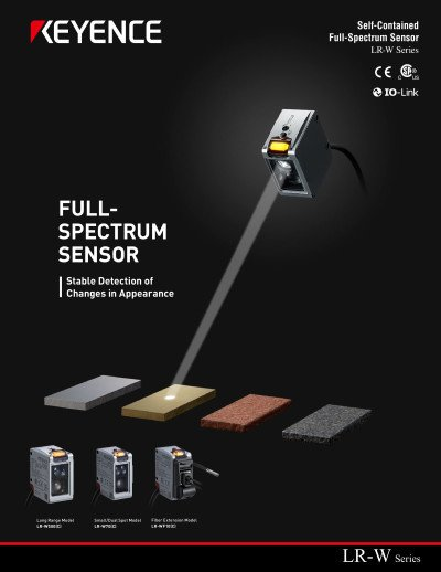 Self-Contained Full-Spectrum Sensor LR-W series