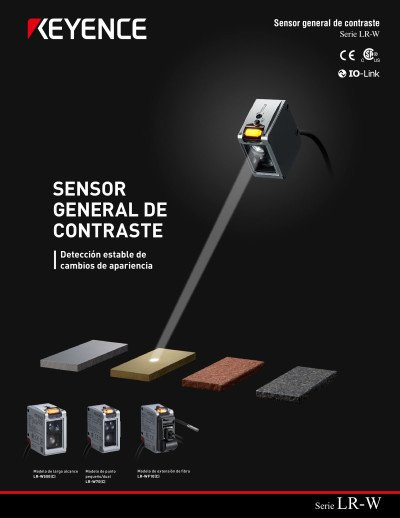 Sensor General De Contraste Serie LR-W