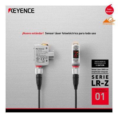 Sensor Láser CMOS con Amplificador Integrado Serie LR-Z