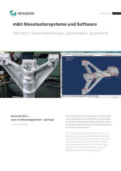 Anwenderbericht - ZSM Zertz + Scheid Maschinenbau, Gummersbach