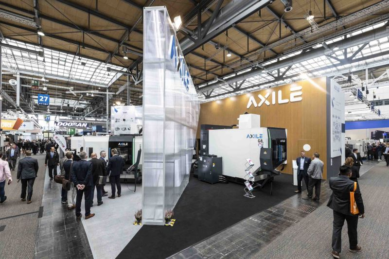AXILE booth at EMO Hannover 2019