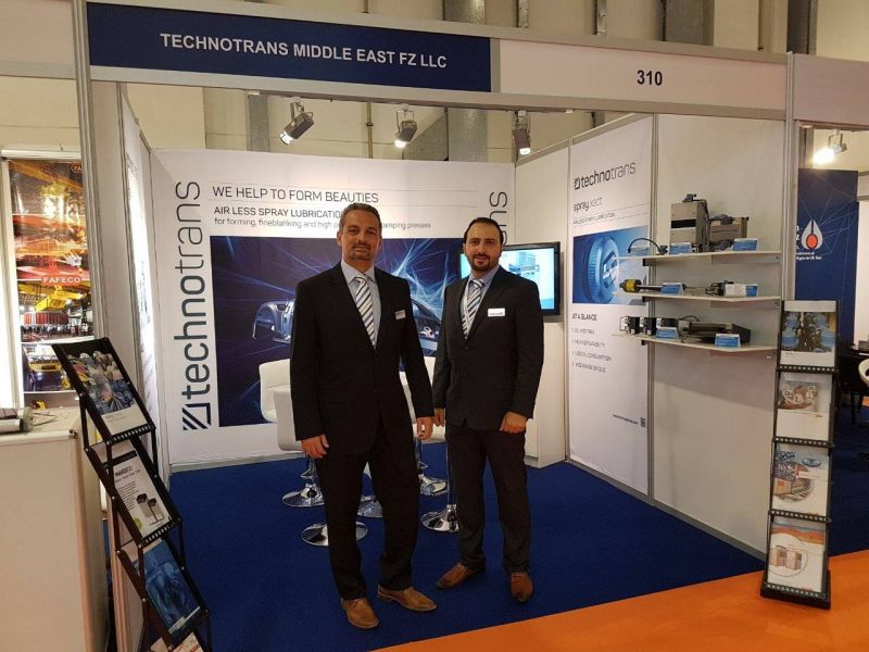 technotrans en la Aluminium Middle East 2017 de Dubai.