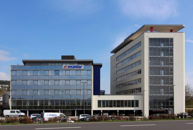 MPDV-Firmenzentrale in Mosbach
