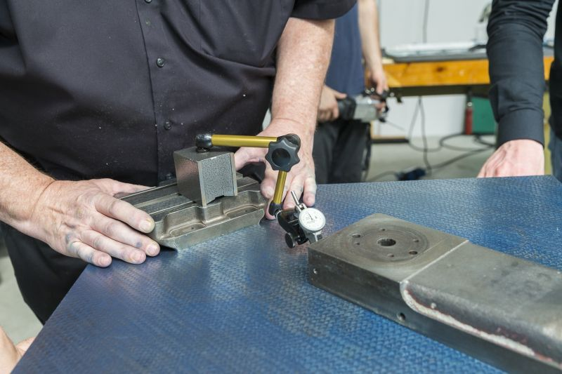 Working with the surface plate