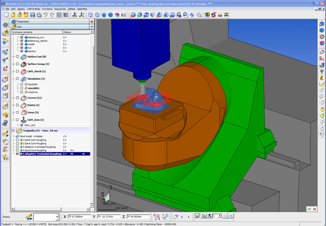 5 axis simulation