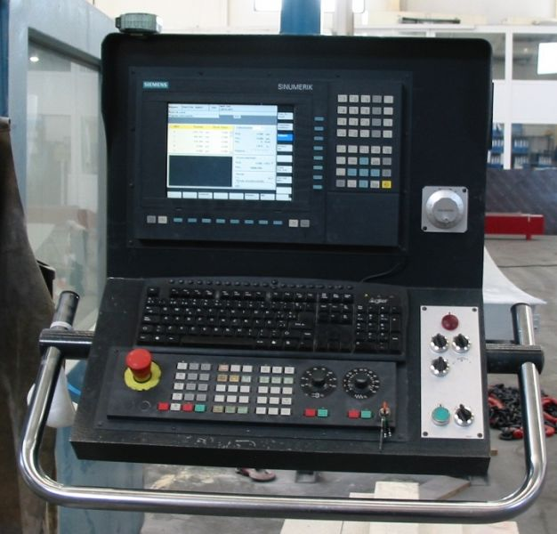 Control Siemens 840 - D en CORREA Pantera