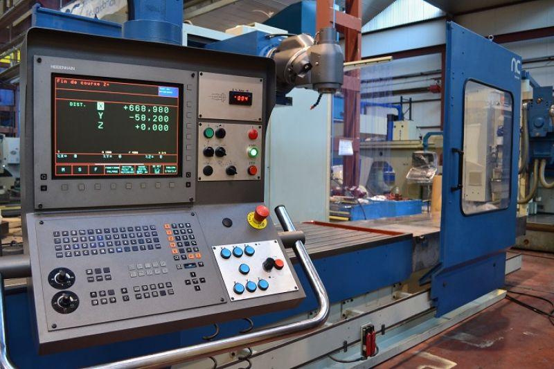 Heidenhain TNC - 426 Fräsmaschine CORREA A30/30