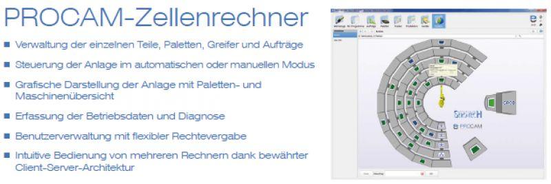 Screenshot des Zellenrechner