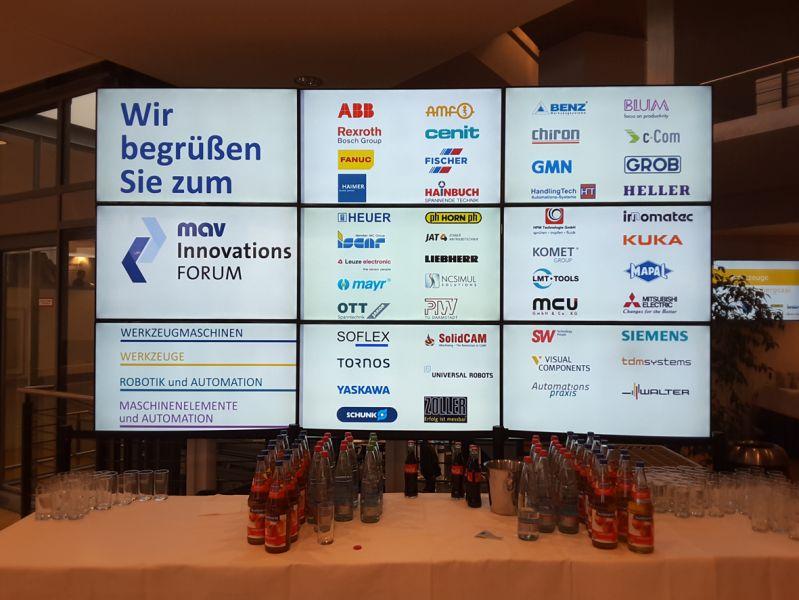 Herzlich Willkommen auf dem 9. mav Innovationsforum 2017