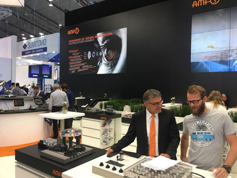 AMF auf der AMB in Stuttgart, 18.-22.09.2018