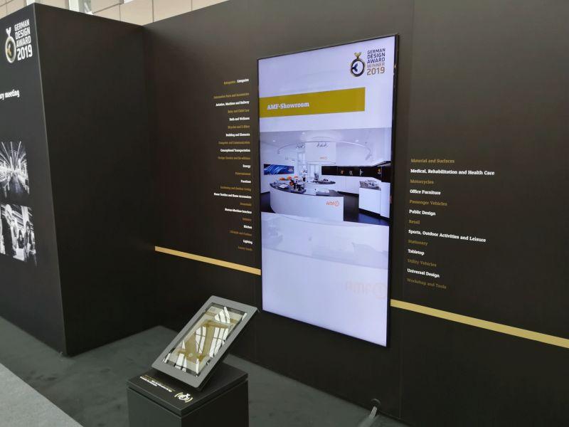 GERMAN DESIGN AWARD WINNER 2019 - Impressionen der Preisverleihung