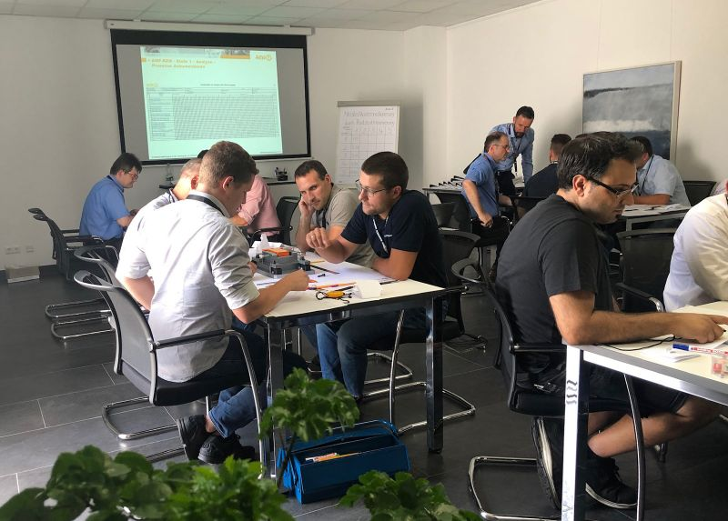 Rückblick zum AMF Workshop bei der Firma Roland Götz Maschinenbau in Ötigheim