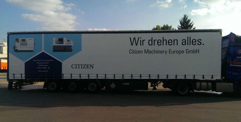 Ab sofort sind wir auch auf den Straßen Deutschlands zu finden