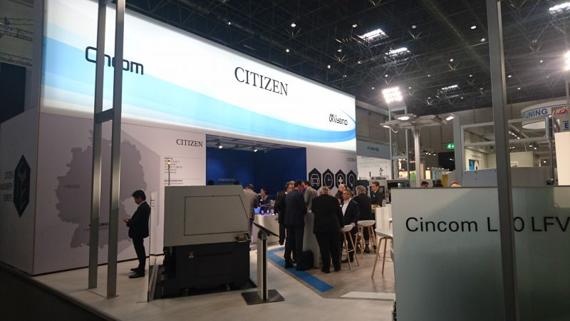 CITIZEN at METAV 2018
