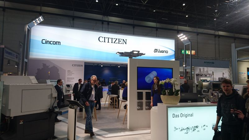 CITIZEN en la METAV 2018