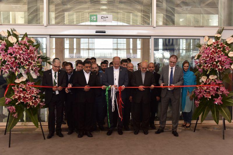 Eröffnung der AMB Iran 2017
