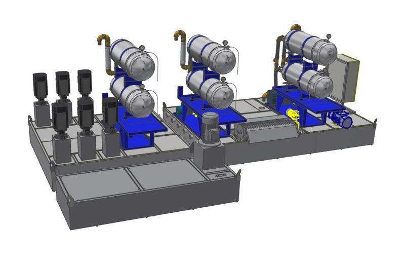 Zentralanlage - Feinstfiltration im Werkzeugschleifen