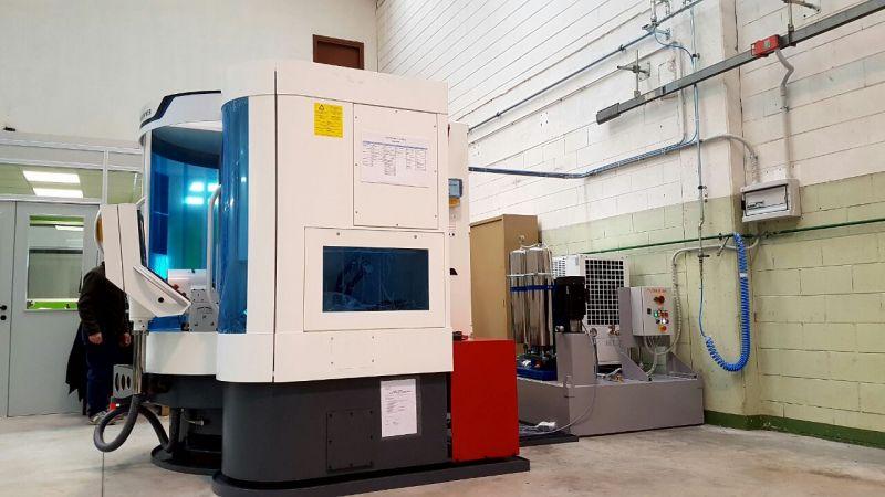 Diedron - Filtration bei 3 µm im Werkzeugschleifen