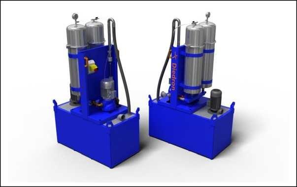 Feinst-Filtersystem - Tank - Pumpe - Cleantower F4