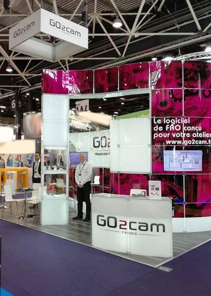 GO2cam auf der Industrie 2017 in Lyon