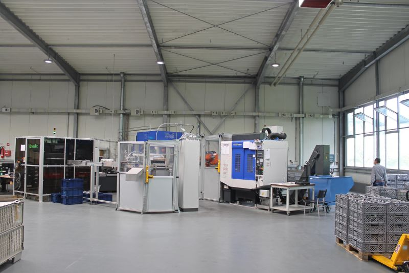 Automatisierung bei Druckguss-Westfalen