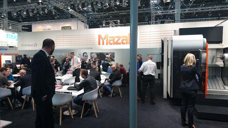 Mazak auf der METAV 2018