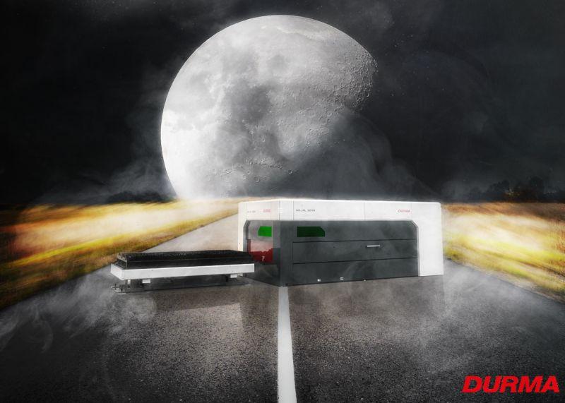 Laserschneidanlage 10 kW | Durma HD/FL Fiber Laser