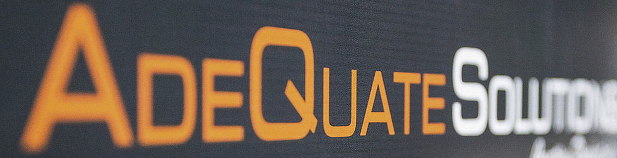 AdeQuate Solutions - Banner