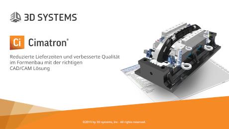 Webinar Reduzierte Lieferzeiten und verbesserte Qualität im Formenbau mit der richtigen CAD/CAM Lösung - 3D Systems Software GmbH