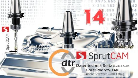 Webinar SprutCAM 14 – seit 25 Jahren CAD/CAM Lösungen - Datentechnik Reitz GmbH & Co. KG