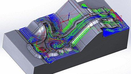 SolidCAM für den Werkzeug-und Formenbau – Extreme Abtragsraten bei bester Formgenauigkeit und Oberflächengüte