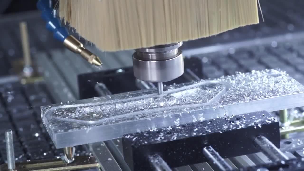 Servomotors mill T-Rex-Servo: Aluminium machining