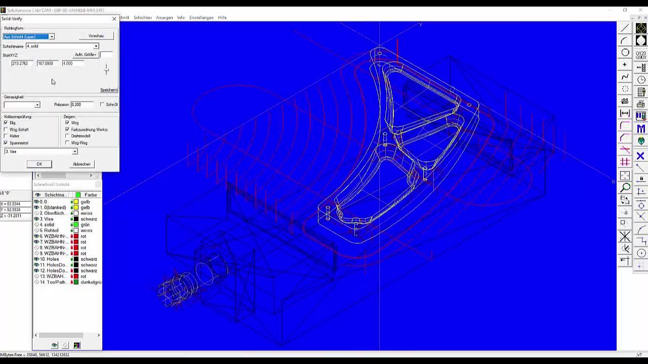 MazaCAM CAD CAM - Mazatrol und 3D Programmierung