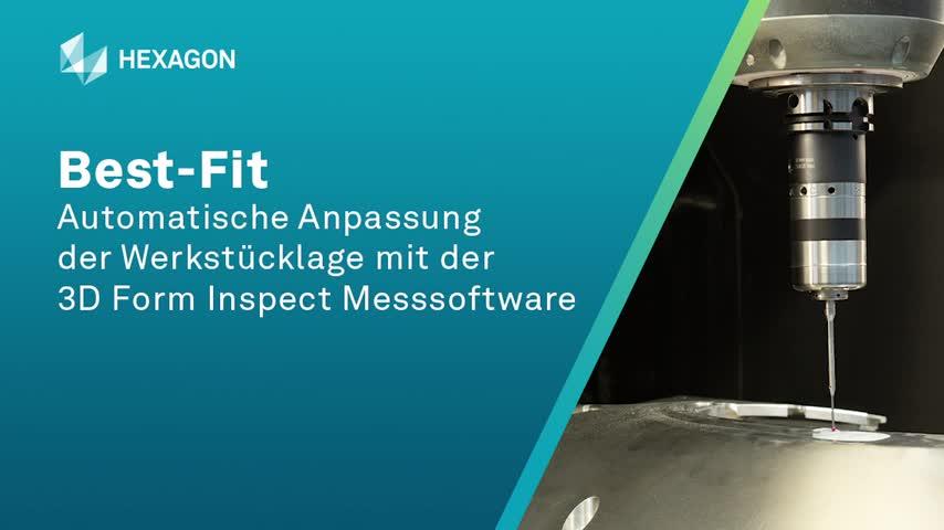 3D Form Inspect Best-Fit im Einsatz bei der Laro GmbH