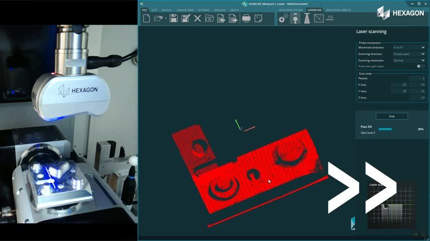 STL-Erstellung durch Laserscanning - Reverse Engineering auf der Werkzeugmaschine!