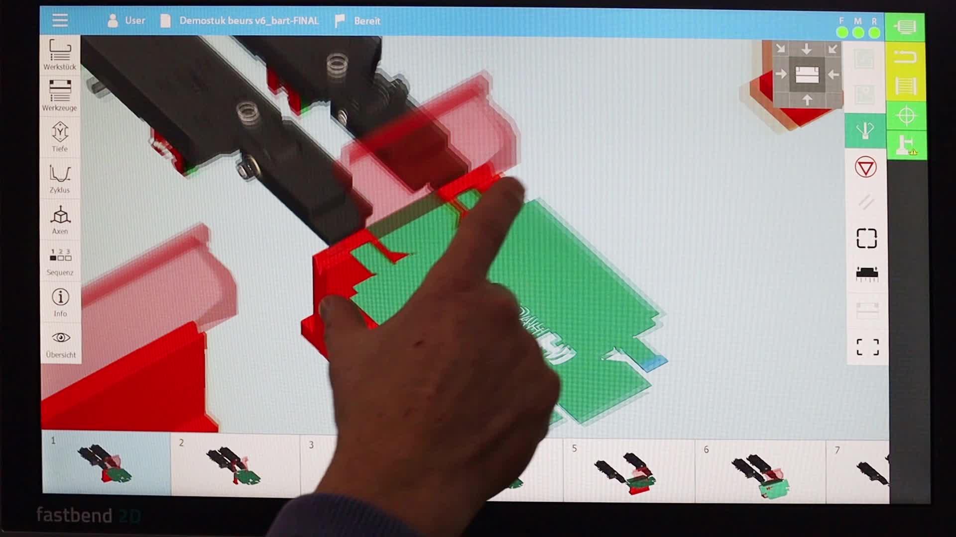 HACO FASTBEND 2D & 3D Steuerung