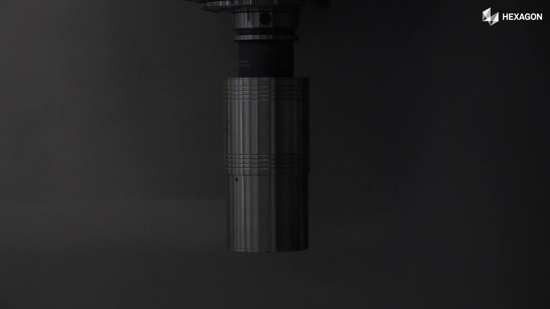 Weltweit erster kabelloser Laserscanner für die Werkzeugmaschine - Die nächste bahnbrechende Innovation von Hexagon!