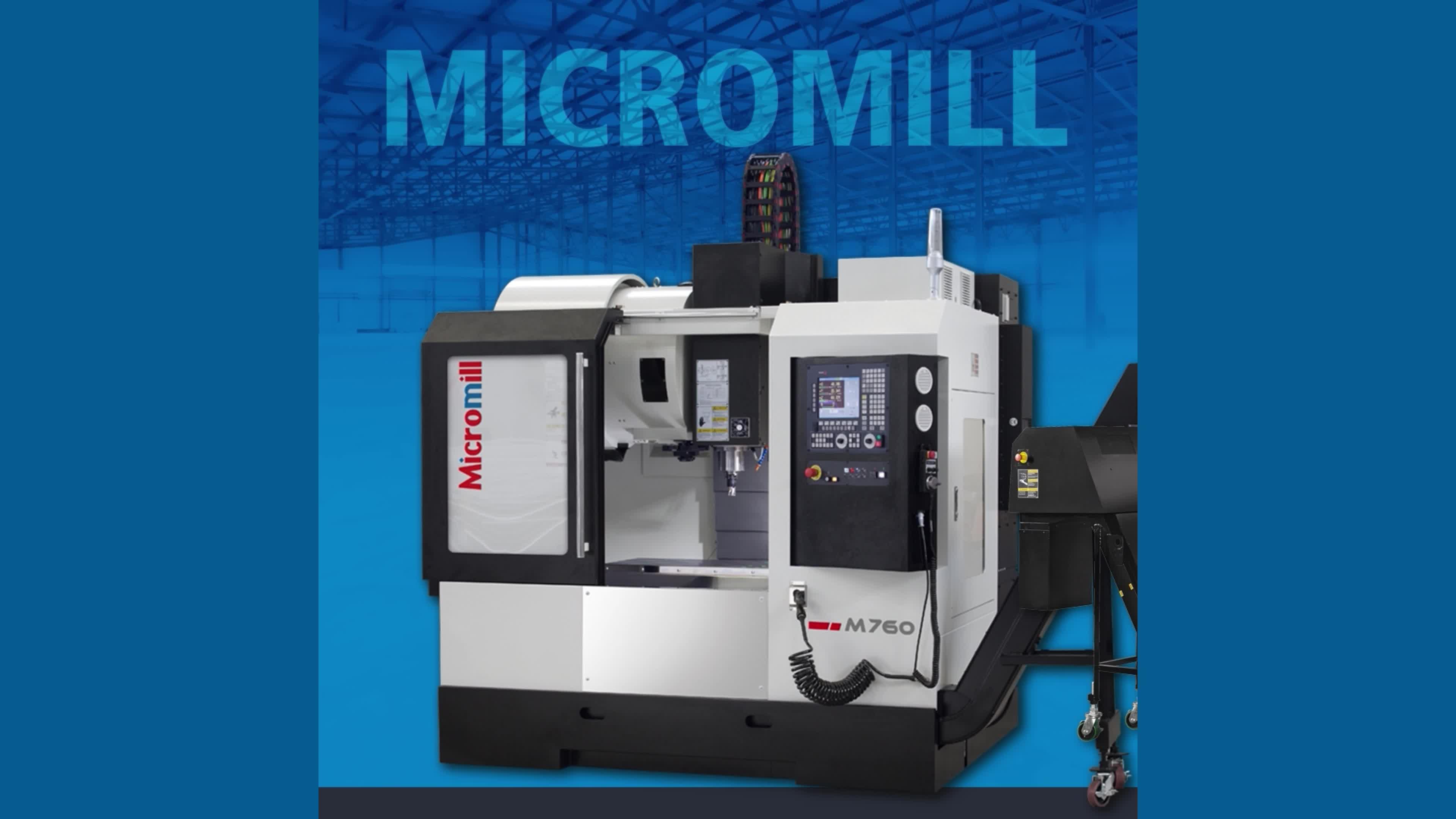 MICROMILL, CNC-Vertikal Bearbeitungszentren