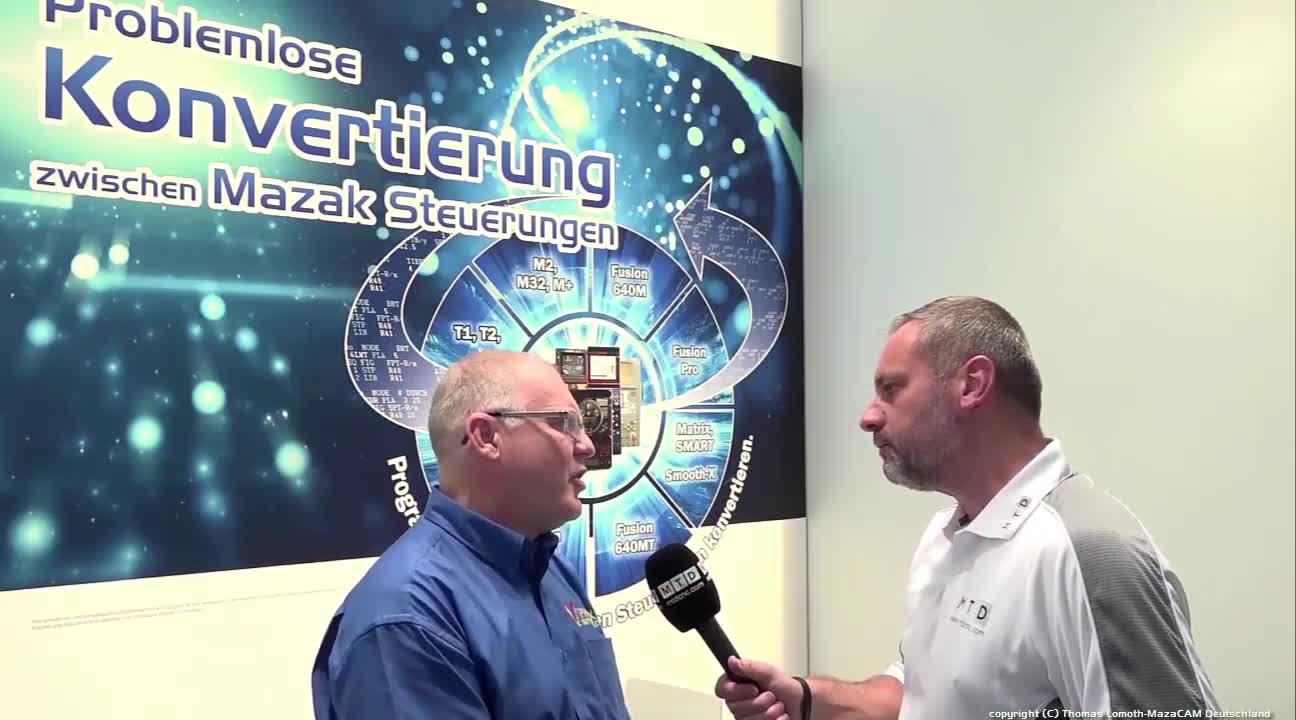 MazaCAM interview auf der EMO 2017