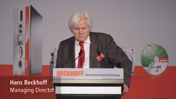 SPS IPC Drives 2018, Tag 2: Beckhoff Messe-TV