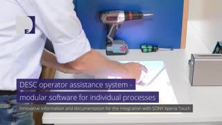 DESC operator assistance system – modular software for individual processes