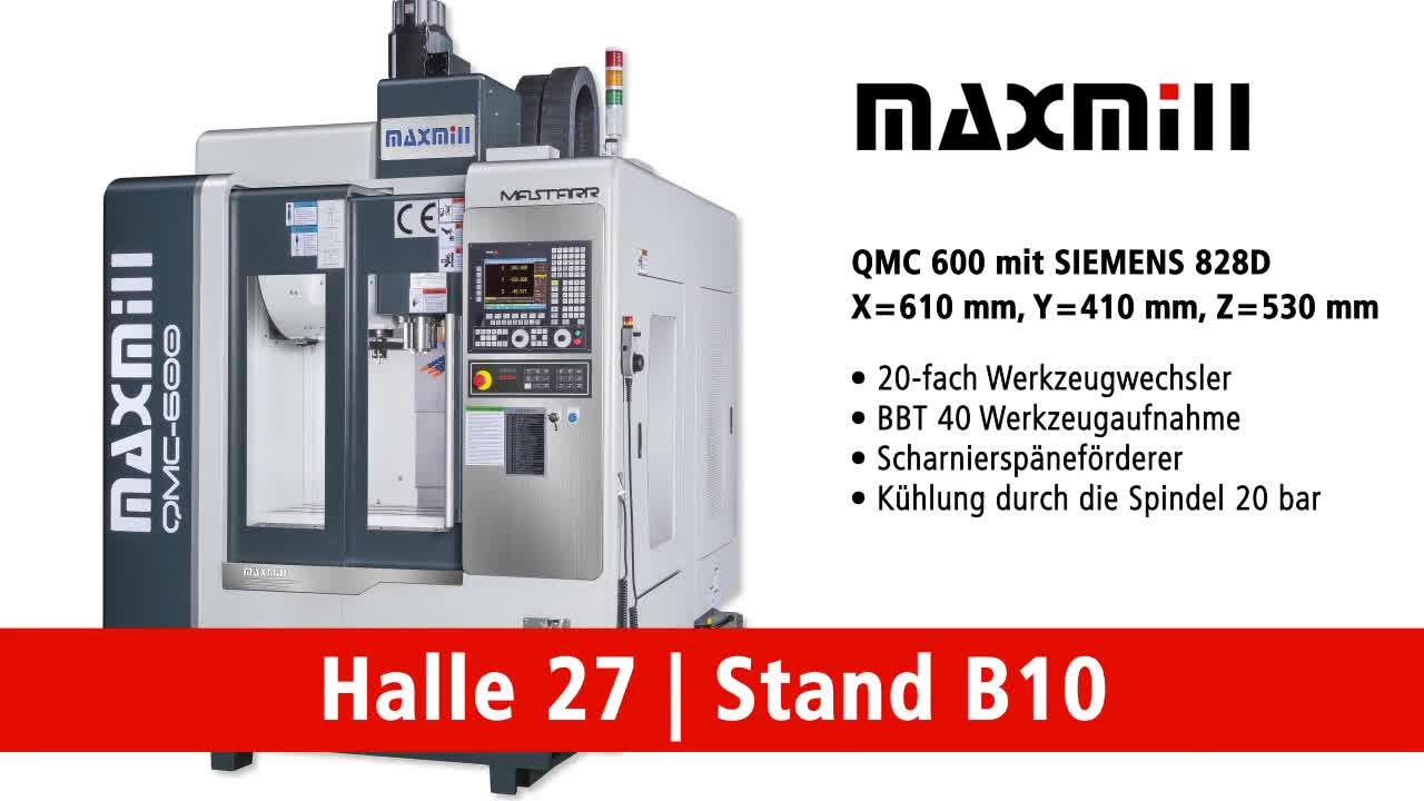 MAXMILL CNC-Bearbeitungszentrum