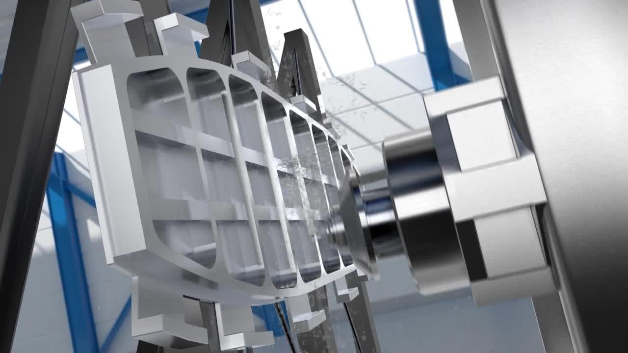 Maschinenspindel