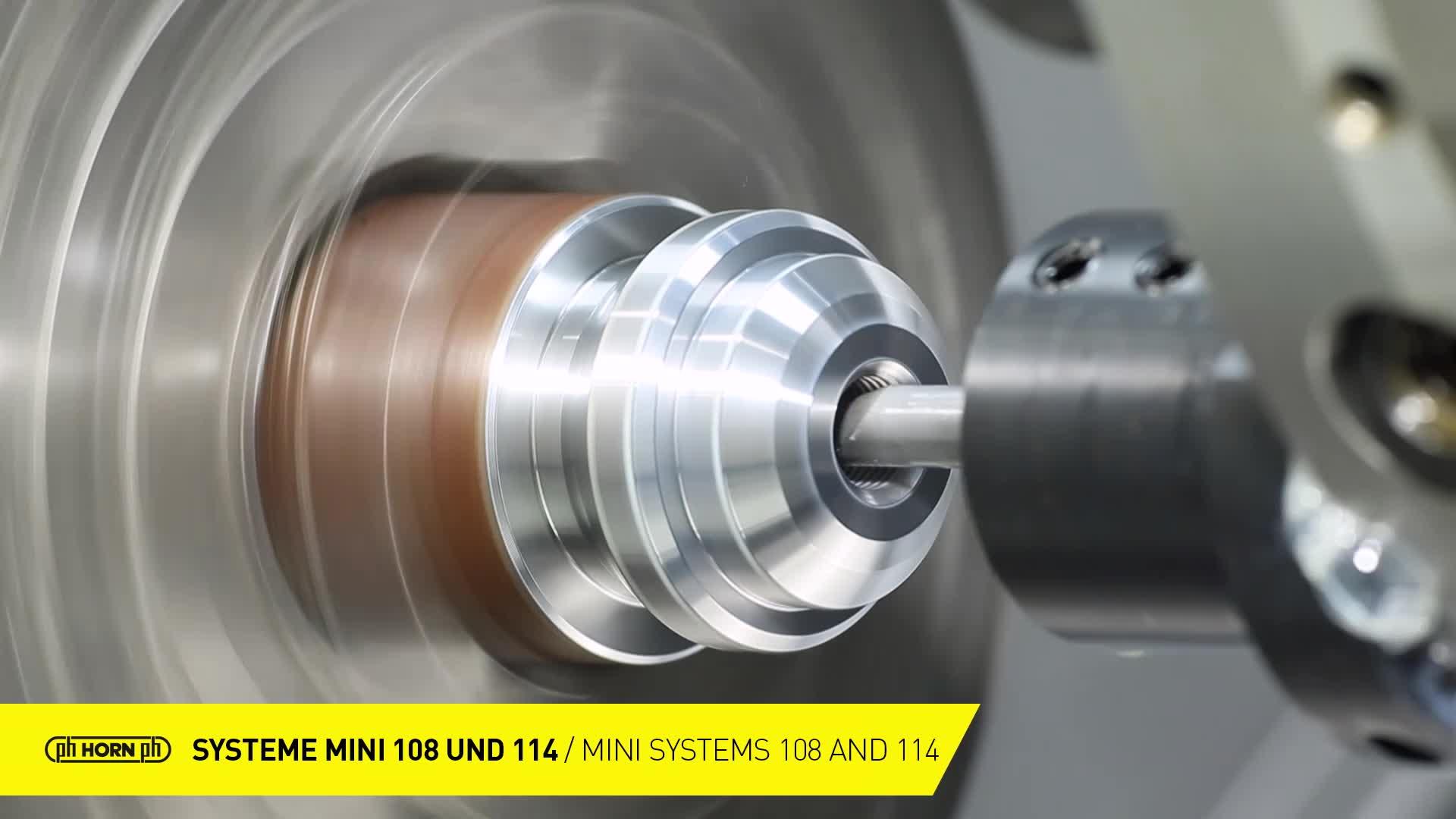 Systeme Mini 108 und 114