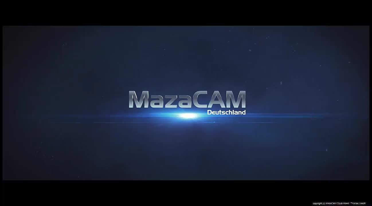MazaCAM CAD-Import: kurzes Tutorial Video