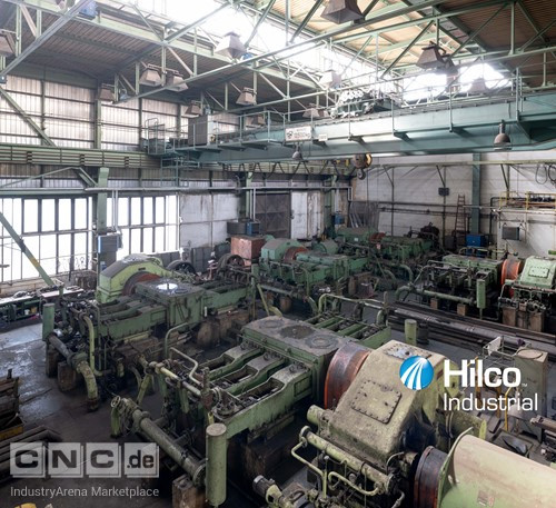 1 - TS-PLZEN CKV 84/105 Mn 12.000 Ton Open Die Forging Press
