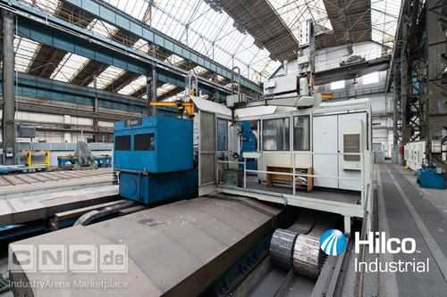 1 - Skoda PC 5 CNC Crankshaft Horizontal Boring Machine
