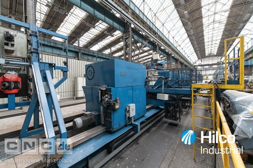 1 - Skoda PC 4 CNC Crankshaft Horizontal Boring Machine