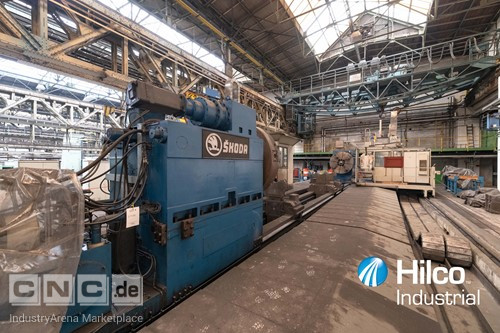 1 - Skoda PC 6 CNC Crankshaft Horizontal Boring Machine